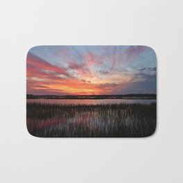 Sunset And Reflections 2 Bath Mat