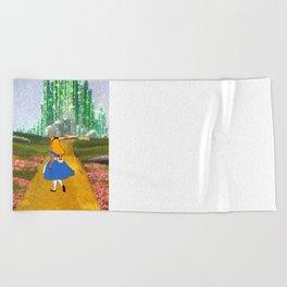 Alice in Oz Beach Towel