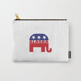 Alaska Republican Elephant Carry-All Pouch