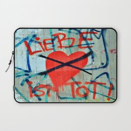 Liebe ist Tot Laptop Sleeve