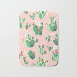 Cacti Tropical Bath Mat
