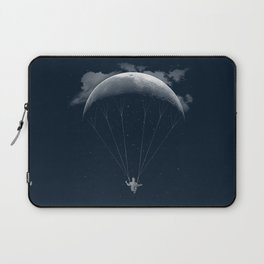 Parachute Moon Laptop Sleeve