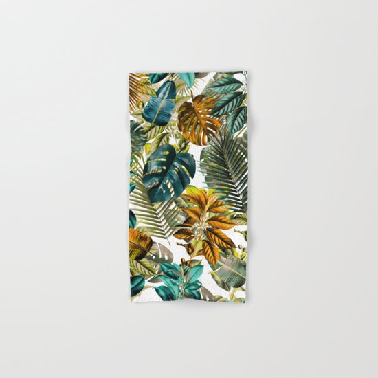 Tropical Garden IV Hand & Bath Towel