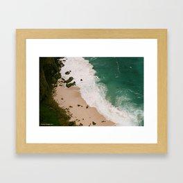 Cape Point Beach Framed Art Print