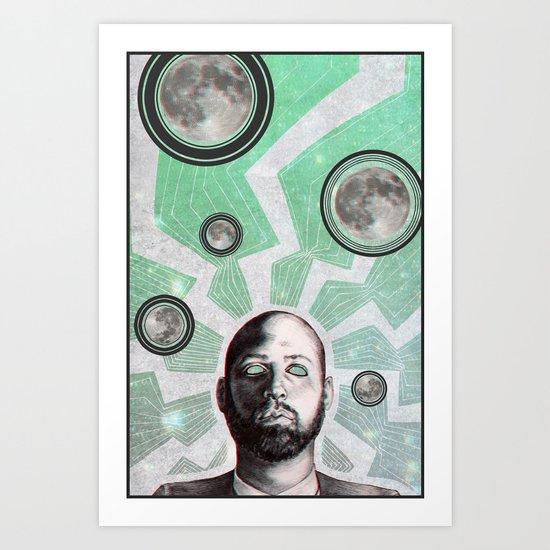 Wavelength Art Print