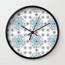 Musical repeating pattern No.2, Collection No.1 Wall Clock
