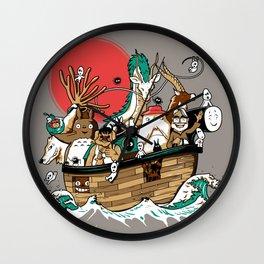 Miyazaki's ark Wall Clock