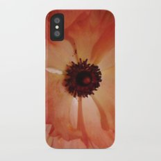Poppy iPhone X Slim Case