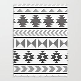 Winter Aztec Poster