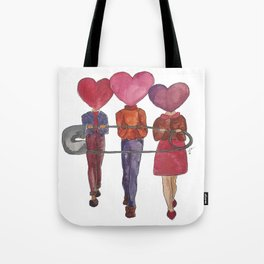 Safe with me Tote Bag