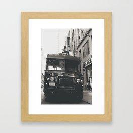 Delivery Framed Art Print