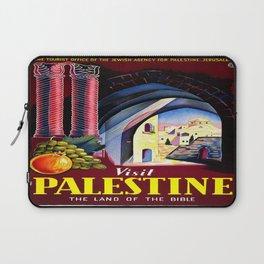 Vintage poster - Palestine Laptop Sleeve