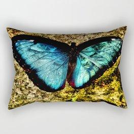 Butterfly Glamour Rectangular Pillow