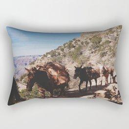 The Long Road Home Rectangular Pillow