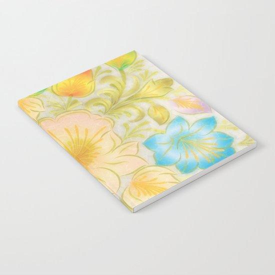 Shabby flowers #8 Notebook