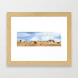 Alentejo landscape Framed Art Print