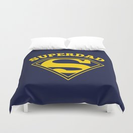 Superdad | Superhero Dad Gift Duvet Cover