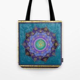 Spiritual Aspiration Mandala Tote Bag