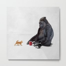 I Should, Koko (Wordless) Metal Print