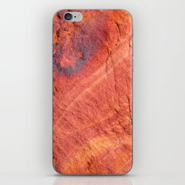 Natural Sandstone Art - Valley of Fire iPhone Skin