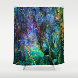 vivid dreams x Shower Curtain