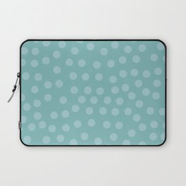Self-love dots - Turquoise Laptop Sleeve
