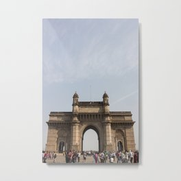 Gateway of India Metal Print