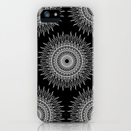 NAKED GEOMETRY no 2 iPhone Case