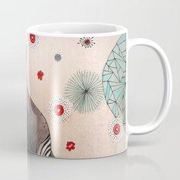 Flowery Okapi Coffee Mug