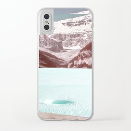 infinity pool Clear iPhone Case