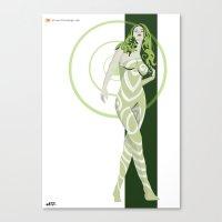 vertigo Canvas Prints featuring Vertigo by Andrew Formosa