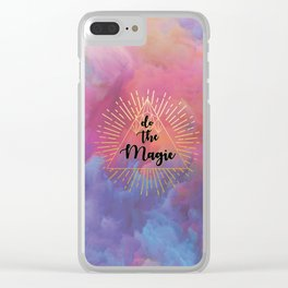 Do the Magic (colorful) Clear iPhone Case