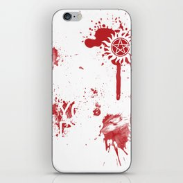 But did you die, Winchester? iPhone Skin