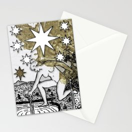 Glamour Tarot The Star Stationery Cards