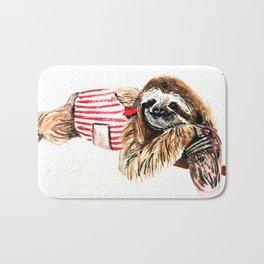 Sassy Sloth Bath Mat