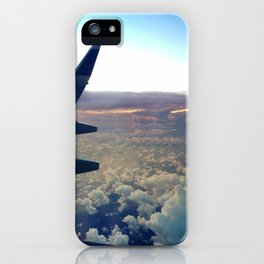airplane window iPhone Case