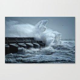 South Coast Storm Canvas Print