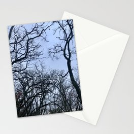 Scary trees Stationery Cards