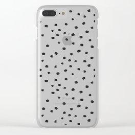 Dot Dot Do Dot Dot Clear iPhone Case