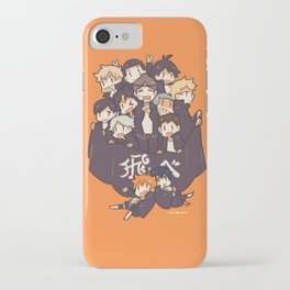 Haikyuu!! Karasuno Team iPhone Case