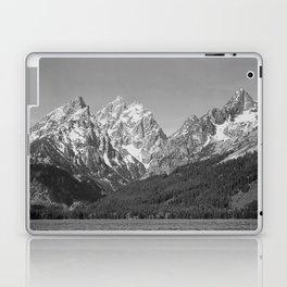 Ansel Adams - Grass Valley and Grand Tetons Laptop & iPad Skin