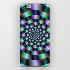 Rings of Green Blue and Violet  iPhone & iPod Skin