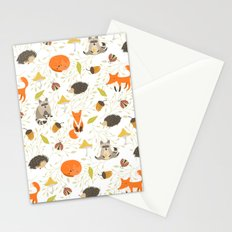 Cute animals Stationery Cards