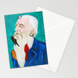 The Bird Man by Mary Bottom Stationery Cards