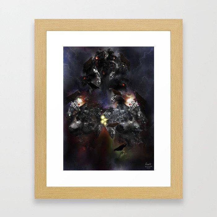 Behemoth 2 [Digital Figure Illustration] Framed Art Print