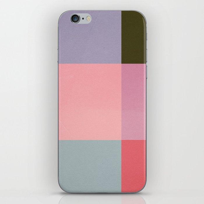 Distressed Cube iPhone Skin