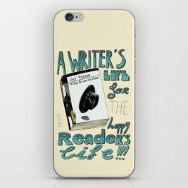 Happy readers iPhone Skin