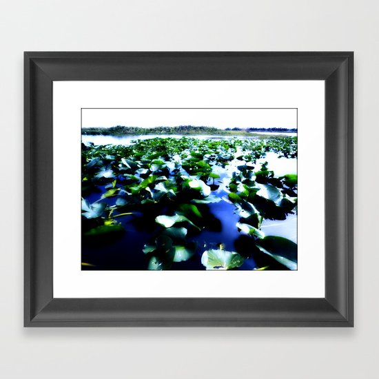 tropical botanica Framed Art Print