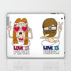 LOVEISPEACE&FREEDOM Laptop & iPad Skin
