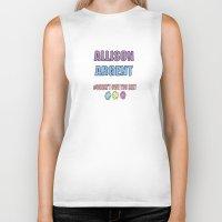 allison argent Biker Tanks featuring Allison Argent by Spattergroit101